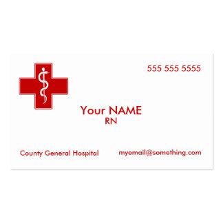 Nurse Pack Of Standard Business Cards