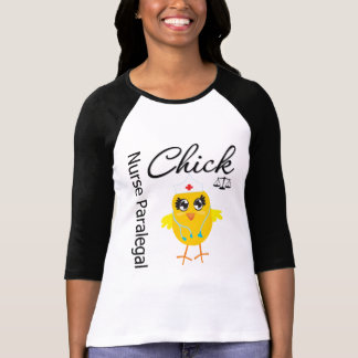 Nurse Paralegal Chick v1 Shirt