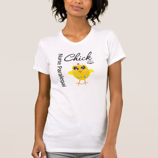 Nurse Paralegal Chick v1 T Shirt