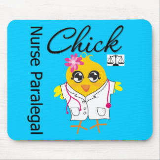Nurse Paralegal Chick v2 Mouse Pad