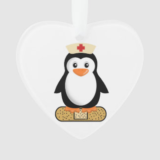 Nurse Penguin (w/bandaid)