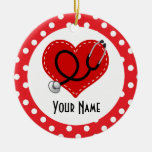 Nurse Personalised Christmas Gift Ornament