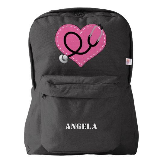 Nurse Personalised Nursing Gift Backpack