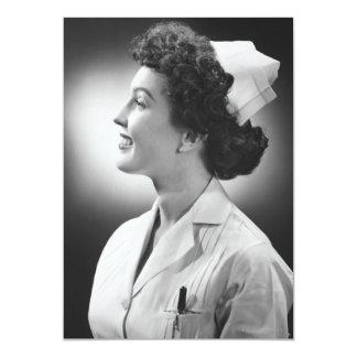 Nurse Posing Card