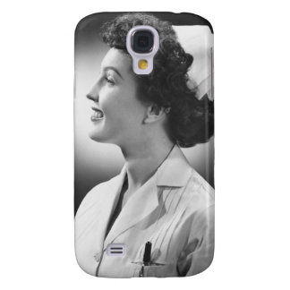 Nurse Posing Galaxy S4 Case