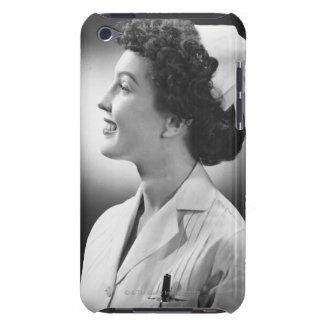 Nurse Posing iPod Case-Mate Case