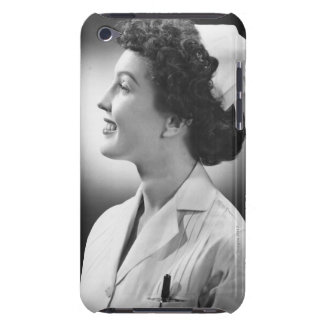 Nurse Posing iPod Touch Case-Mate Case