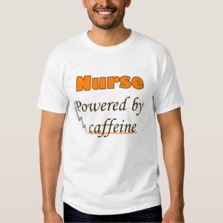 Nurse Powered by caffeine Shirt