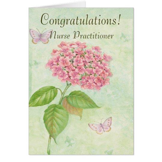 """Nurse Practitioner """"Congratulations"""" Card"""