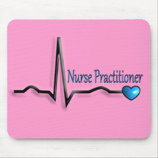 Nurse Practitioner Gifts QRS Design Mouse Mat