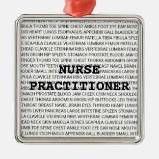 Nurse Practitioner Medical Terminology Christmas Christmas Ornament