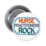 Nurse Practitioners Rock Pinback Button
