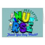 "Nurse Preceptor ""Thank  You"" Gifts Greeting Card"