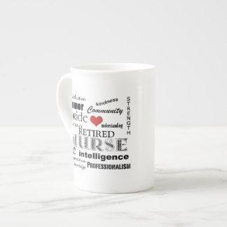 Nurse Pride-Attributes/RETIRED Bone China Mug