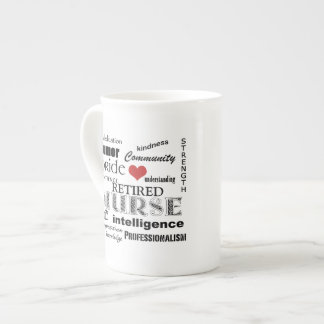 Nurse Pride-Attributes/RETIRED Tea Cup