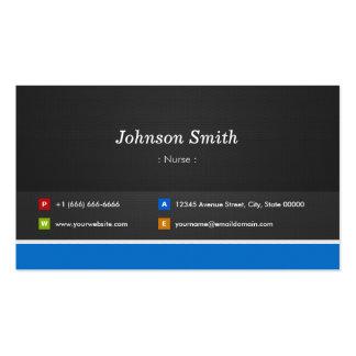 Nurse - Professional Customizable Business Cards