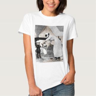 Nurse Pumping Water Tshirts