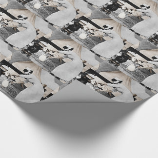 Nurse Pumping Water Wrapping Paper