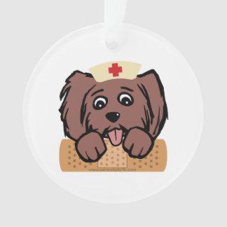 Nurse Pup Ornament