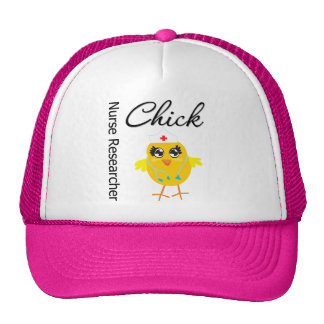 Nurse Researcher Chick v1 Hat