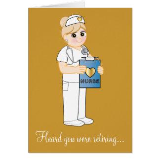 Nurse Retirement Greeting Card