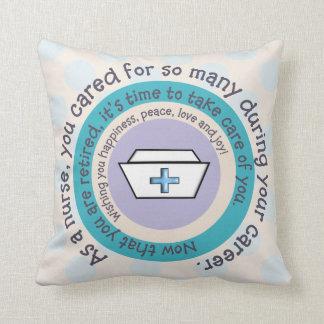 Nurse Retirement Pillow