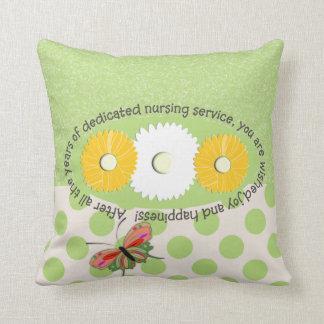 Nurse Retirement Pillow Throw Cushion