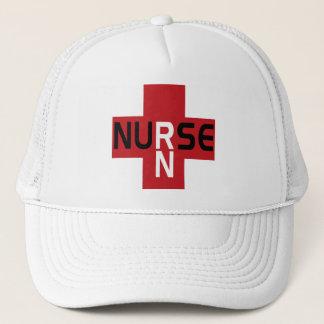 NURSE RN RED HAT