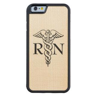 Nurse RN wooden maple phone case