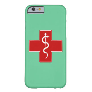 Nurse Rod of Asclepius Barely There iPhone 6 Case