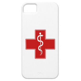 Nurse Rod of Asclepius iPhone 5 Cases