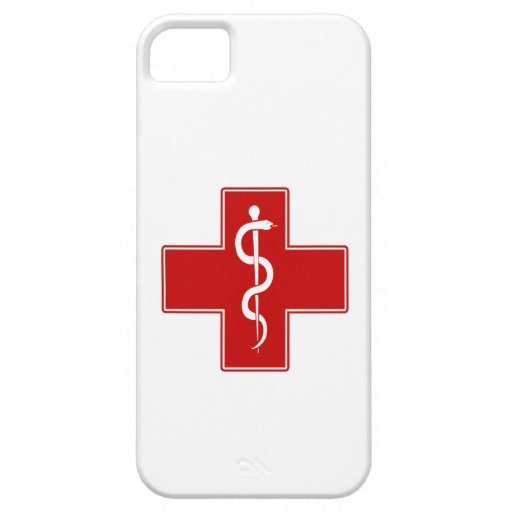 Nurse Rod of Asclepius iPhone 5 Case