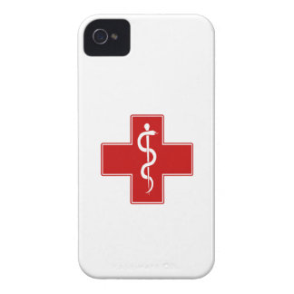 Nurse Rod of Asclepius iPhone 4 Case-Mate Cases