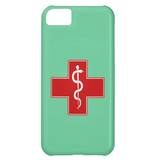 Nurse Rod of Asclepius Case For iPhone 5C