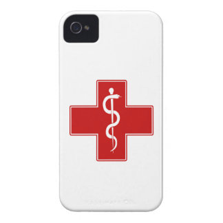 Nurse Rod of Asclepius Case-Mate iPhone 4 Cases