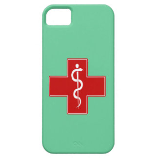 Nurse Rod of Asclepius iPhone 5 Cover
