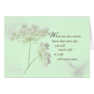 Nurse s Day Touch a Life Greeting Cards