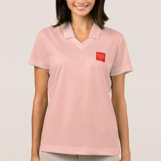 Nurse's Polo Shirt with Nurse Heart Logo