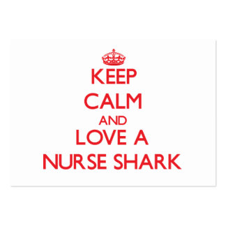 Nurse Shark Pack Of Chubby Business Cards