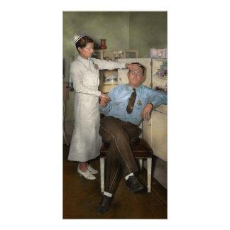 Nurse - Sick Day - 1937 Photo Cards