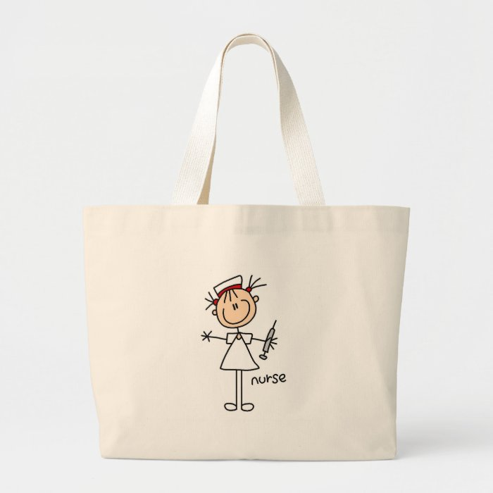 Nurse Stick Figure Bag