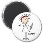 Nurse Stick Figure Magnet