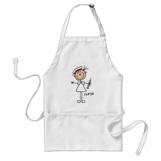 Nurse Stick Figure Standard Apron