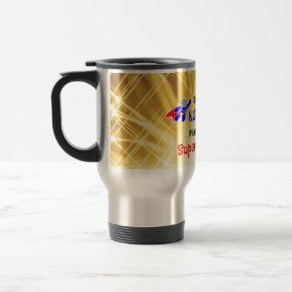 Nurse Superhero Stainless Steel Travel Mug