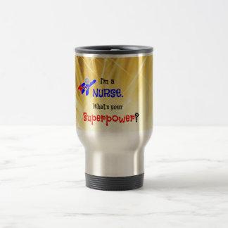 Nurse Superhero Travel Mug
