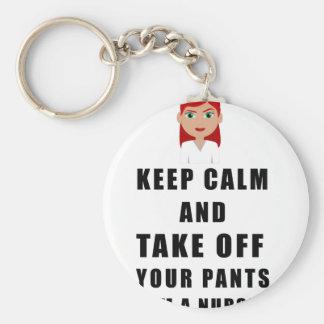 nurse, take off your pants key ring