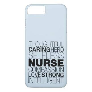 Nurse Text iPhone 8 Plus/7 Plus Case