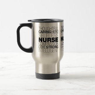 Nurse Text Travel Mug