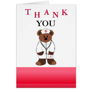 Nurse Thank You Card