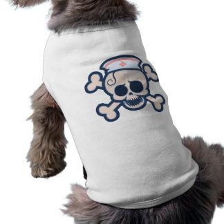 Nurse Wenchet Sleeveless Dog Shirt